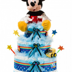Tort din scutece Pampers Mickey Mouse