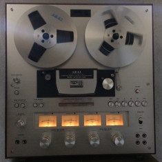 Magnetofon AKAI GX-270 D-SS, Qadra-Sync System, 3 mot.DD, 3 cap.gx, stare f.buna