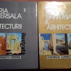 Istoria Universala A Arhitecturii Ilustrata. Vol. 1si 2 - Ghe. Curinschi Vorona - Carte Arhitectura