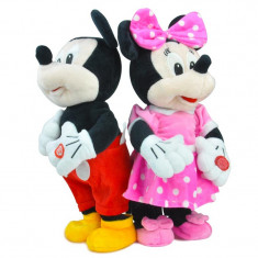 PROMOTIE! MICKEY SI MINNIE INTERACTIVE, CLUBUL LUI MICKEY MOUSE, CANTA, MERG, SUPER! - Jucarii plus