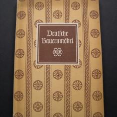 Mobila taraneasca din Germania - Carte Arta populara