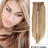 Extensii 100% par natural blond mix saten 12#/613 (OFERTA STOC LIMITAT - Extensii par