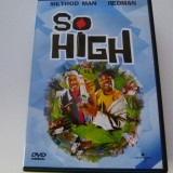 So high - dvd, Engleza