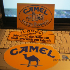 Sticker-Abtibild-Kleber-Autocolant-Adeziv-lot de 3 buc CAMEL - Stickere tuning