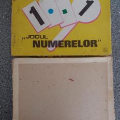 Jocul Numerelor -  joc vintage de colectie / CJP