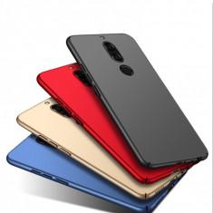 Bumper / Husa ultra subtire Huawei Mate 10 / Mate 10 Lite / Mate 10 pro, Alt model telefon Huawei, Albastru, Auriu, Negru, Rosu, Roz, Plastic