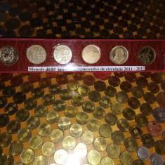 Monede Romania : monede de 50 bani de circulatie comemorative - 2011 si 2017 - Moneda Romania, Alama