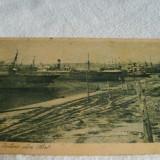 Carte postala - Constanta - Vedere dinport - 1935