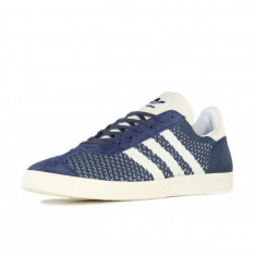 Adidasi Adidas Gazelle Primeknit marimea 41 1/3 si 43 1/3 - Adidasi barbati, Culoare: Albastru, Textil