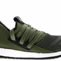Adidasi Adidas Pure Boost Raw marimea 40 - Adidasi barbati, Culoare: Verde, Textil