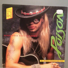 "POISON - EVERY ROSE HAS...Maxi Single ""12(1988/EMI/RFG) - Vinil/Analog/Impecabil, capitol records"