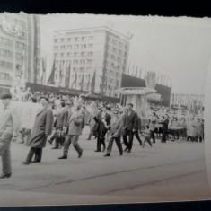 Fotografie defilare Iasi, Republica Populara Romana