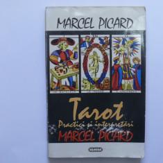 Tarot. Practici si interpretari - Marcel Picard - Carte ezoterism, Nemira