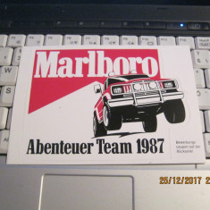 Sticker-Abtibild-Kleber-Autocolant-Adeziv-MARLBORO 1987 - Stickere tuning