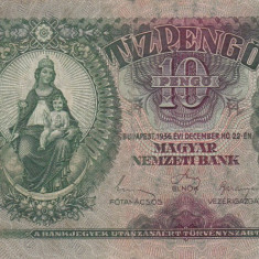 UNGARIA 10 pengo 1936 VF!!! - bancnota europa