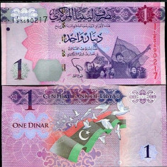 LIBIA- 1 DINAR 2013- UNC!!