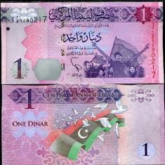 LIBIA- 1 DINAR 2013- UNC!! - bancnota africa