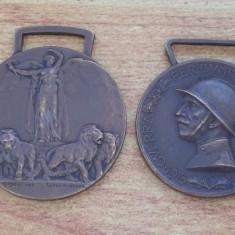 Patru medalii Italia Guerra italo turca 1911-1912, Medalia Victoriei WWI s.a., Europa