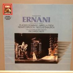 VERDI - ERNANI cu : Domingo/Riccardo Muti...etc (1983/EMI/RFG) - VINIL/Ca NOU - Muzica Opera emi records