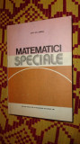 Matematici speciale vol.1/660pag/an 1981- Sabac