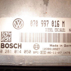 Calculator motor ecu volkswagen transporter t5 2.5 bnz - ECU auto Bosch