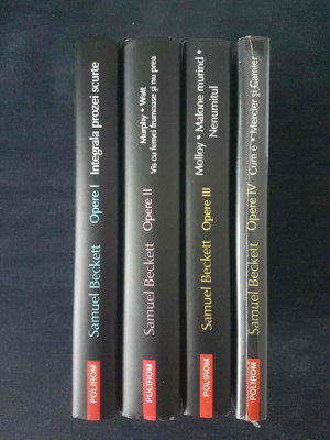 Samuel Beckett - Opere I, II, III, IV  (4 vol.) foto