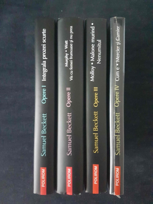 Samuel Beckett - Opere I, II, III, IV  (4 vol.)