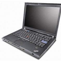 Laptop Refurbished Lenovo Thinkpad T400, Core 2 Duo P8600, 2GB RAM, 160Gb HDD, 14.1