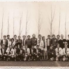 Fotografie fotbal Deva 1975 posibil echipa scandinava
