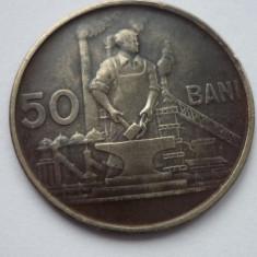 50 BANI 1955 *** - Moneda Romania