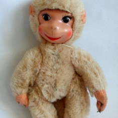 Jucarie vintage maimuta / maimutica Schuco, 20cm, mohair, anii '60-70 Romania - Jucarii plus
