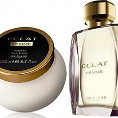 Set ECLAT FEMME de la ORIFLAME - parfum si crema de corp - Set parfum