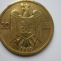 20 LEI 1930 KN *** - Moneda Romania