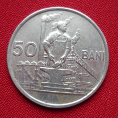50 BANI 1956 *** - Moneda Romania