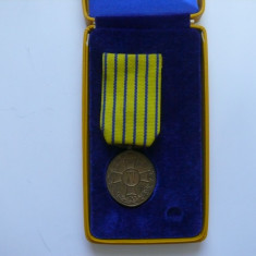 Medalia Semnul onorific in serviciul armatei, XV ani, subofiteri - Decoratie