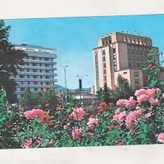 Bnk cp Brasov - Hotel Carpati - circulata - Carte Postala Transilvania dupa 1918, Printata