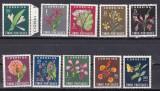 Timor  1950  flori  MI 283-292  MLH  w47, Nestampilat