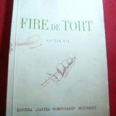 George Cosbuc - Fire de Tort -Ed. Cartea Romaneasca 1941 - Carte poezie