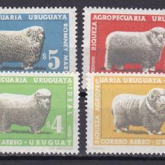 Uruguay 1967 fauna ovine MI 1070-73 MNH w47 - Timbre straine, Nestampilat