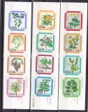 Portugalia  Azore  1981/82/83  flori  MI 345-352  358-61  carnete  MNH  w47, Nestampilat