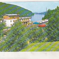 Bnk cp Valiug ( Jud Caras Severin ) - Vedere spre lac - circulata - marca fixa - Carte Postala Banat dupa 1918, Printata