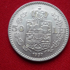 50 LEI 1937 *** - Moneda Romania