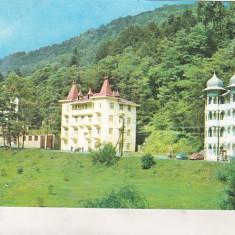 Bnk cp Slanic Moldova - Vile - circulata - Carte Postala Moldova dupa 1918, Printata