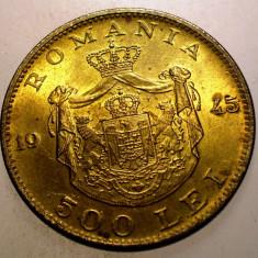 2.290 ROMANIA MIHAI I 500 LEI 1945 - Moneda Romania, Alama
