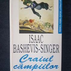 Craiul campiilor - Isaac Bashevis-Singer - Roman