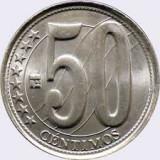 Venezuela  _ 50 centimos  _ 2009 _ UNC (necirculat)