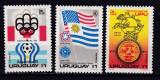 Uruguay  1975  sport  MI 1369-71  MLH  w47, Nestampilat