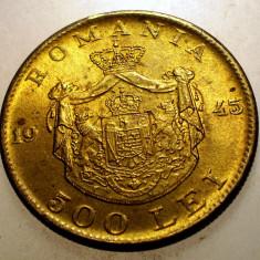 2.282 ROMANIA MIHAI I 500 LEI 1945 - Moneda Romania, Alama