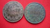 10 BANI 1867 WATT SI HEATON ***