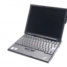 Laptop Refurbished Lenovo Thinkpad X61, Core 2 Duo T7300, 2GB RAM, 80Gb HDD, 12